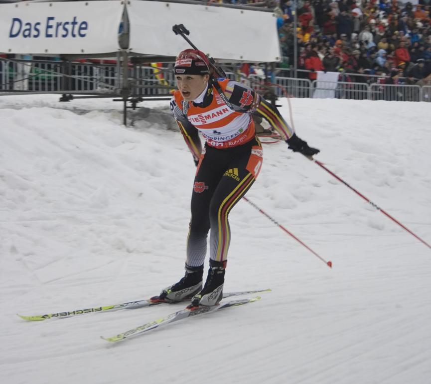 Biathlon Weltcup Oberhof 2008