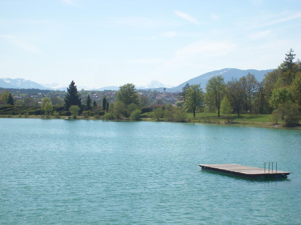 Bibisee der geheime See für Wasserratten im Tölzer Land