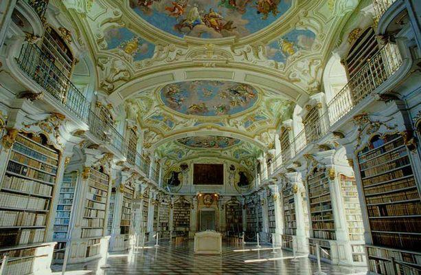 Bibliothek des Klosters Admont, Österreich