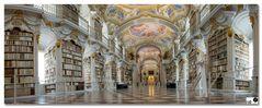 Bibliothek im Stift Admont