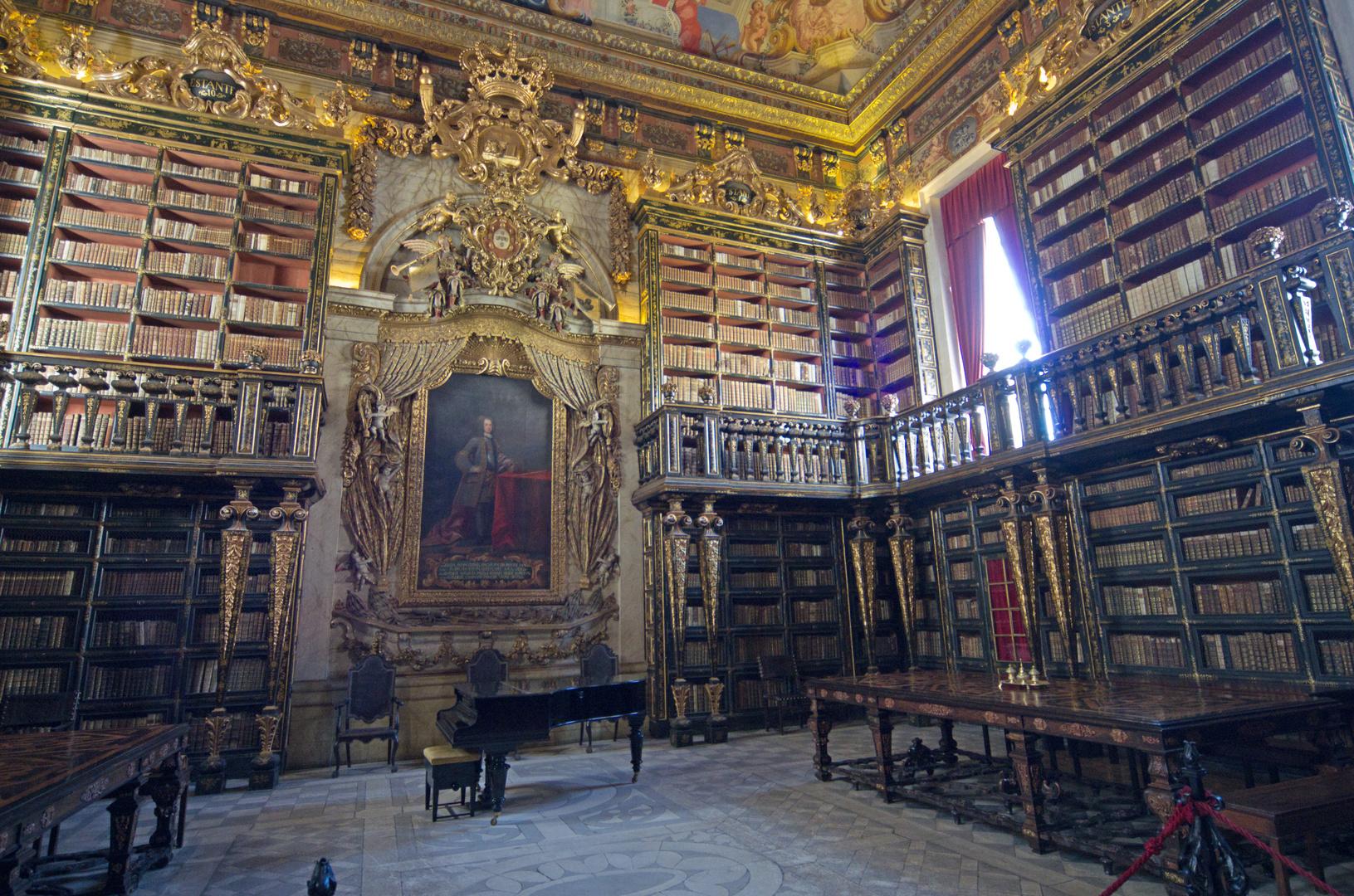 Bibliothek in Coimbra