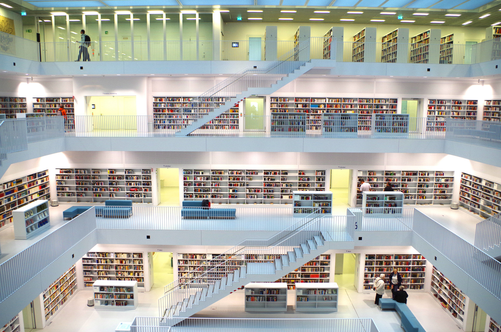 Bibliothek Stuttgart II