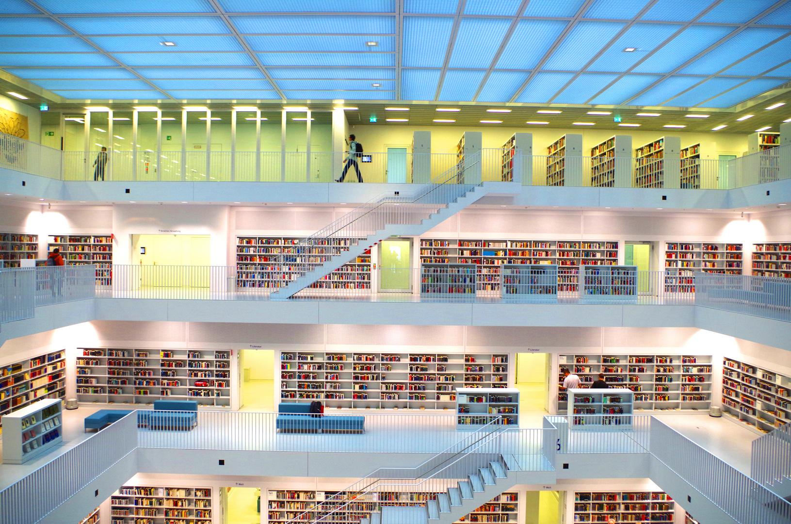 Bibliothek Stuttgart V