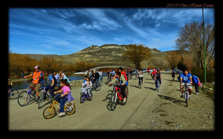 Bicicleteada primaveral x la ciudad
