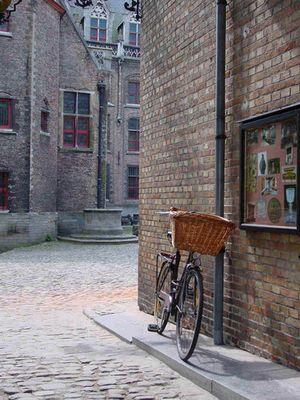 bicycle, Bruges