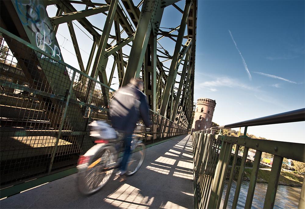 Bicycles ahead