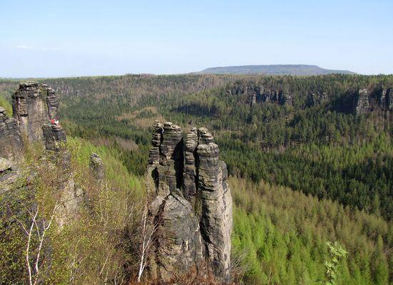 Bielatal - Grenzplatte
