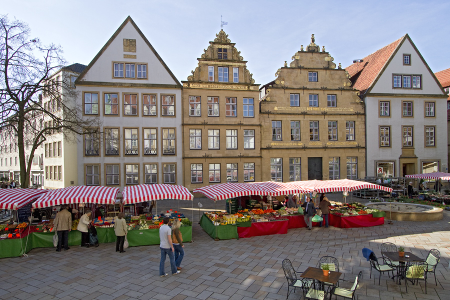 bielefeld alter markt foto bild deutschland europe nordrhein westfalen bilder auf. Black Bedroom Furniture Sets. Home Design Ideas