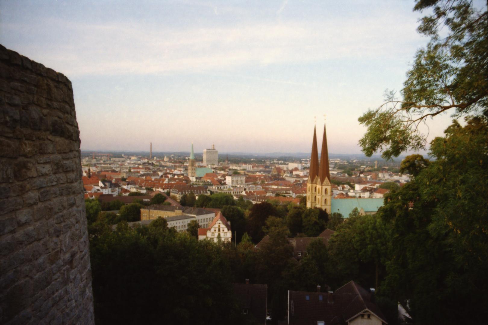 Bielefeld Ich war da Teil 5 - So sieht also die Stadt von oben aus , die es nicht gibt ?