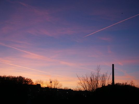 Bielefelder Abendhimmel