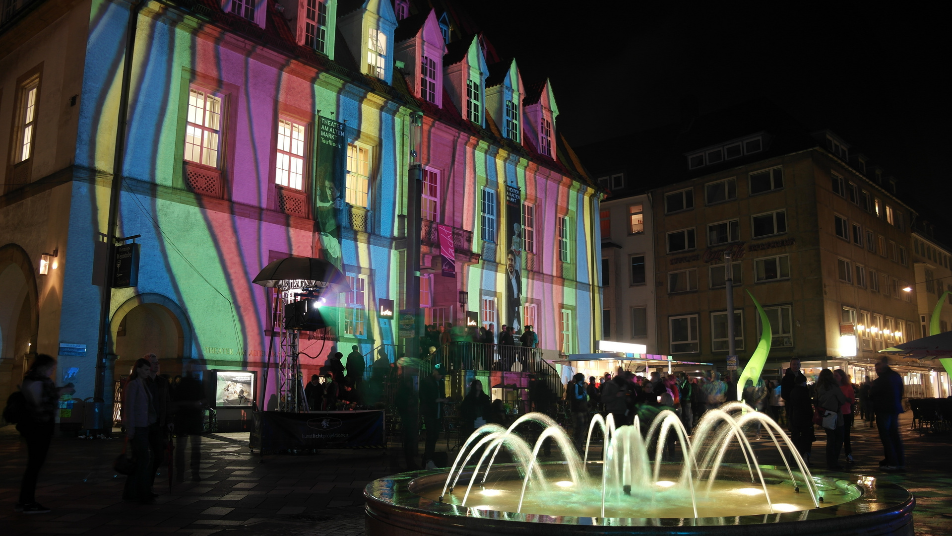 Bielefelder Nachtansichten Altstadt