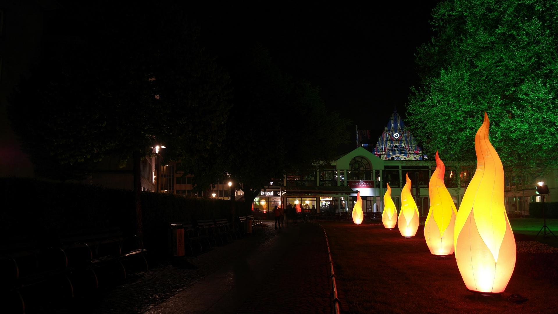 Bielefelder Nachtansichten Rathaus