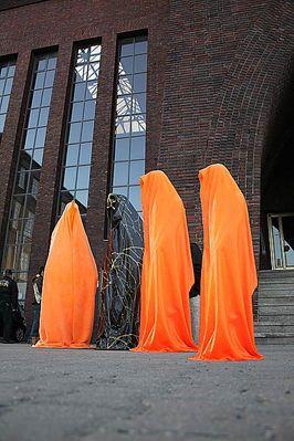 Biennale für Lichtkunst Austria 2010 - guardians of light by Manfred Kielnhofer