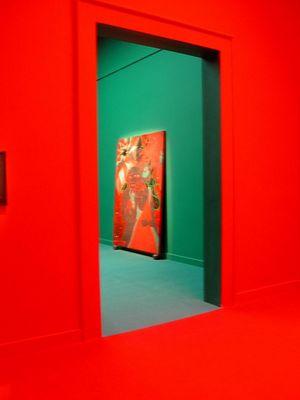 Biennale Rot / Grün