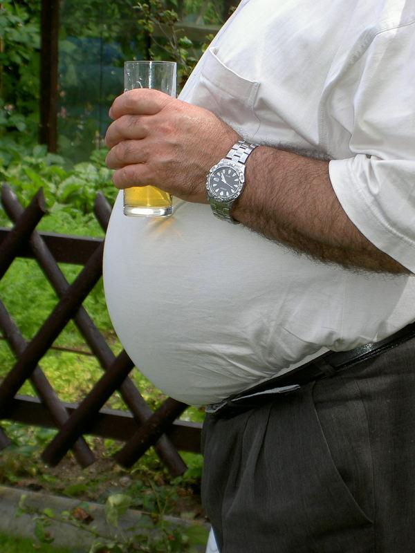 Bier oder Bauch?