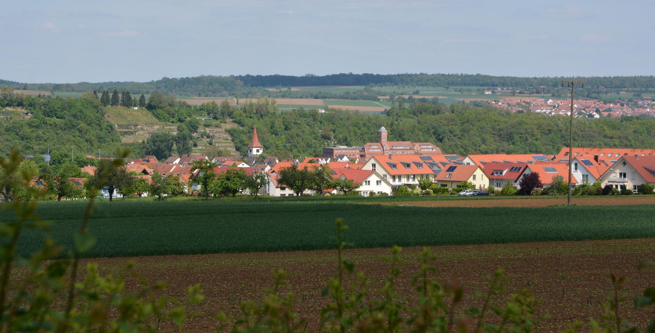 Bietigheim - Bissingen Blick auf Bissingen