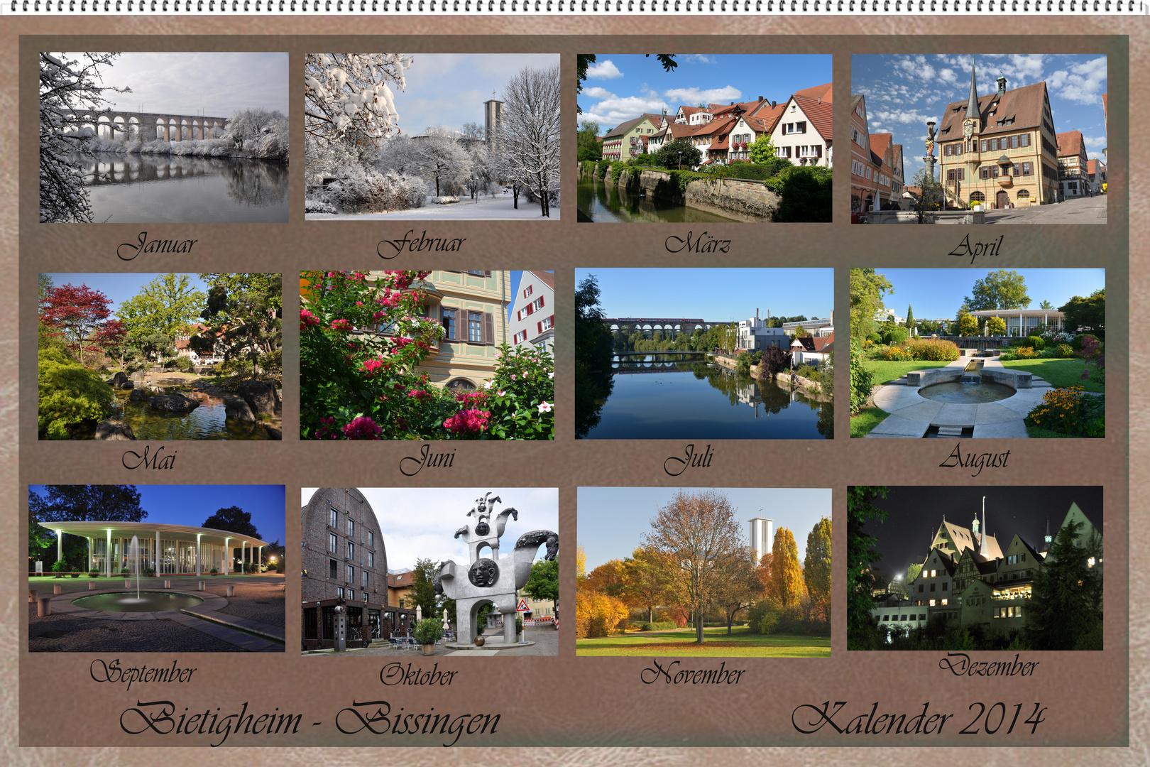 Bietigheim - Bissingen Kalender 2014