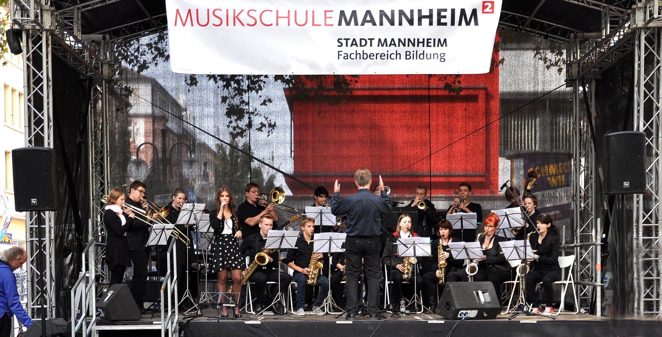 BIG-Band der Musikschule Mannheim
