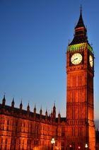 Big Ben am Abend