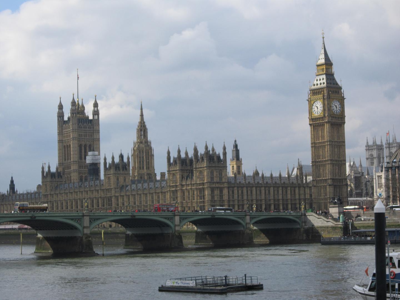 Big Ben an Ostern