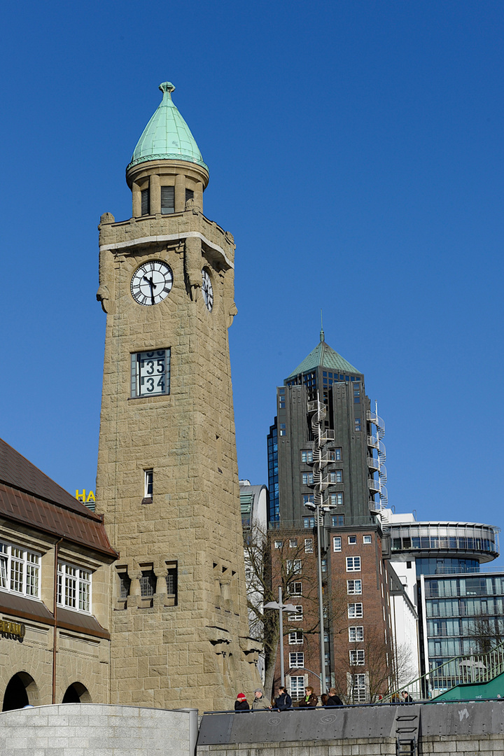 Big Ben in Hamburg