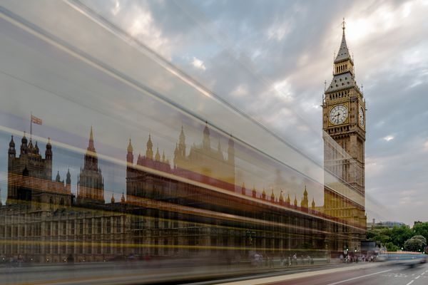 Big Ben und der Bus