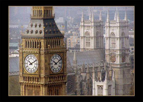 Big Ben & Westminster Abbey