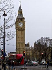 Big Ben  --  Westminster  --  London