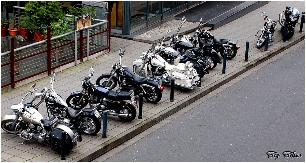 Big Bikes at Chilli Pepper - Darmstadt meets Mainz