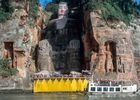 Big Buddha in Leshan China Weltkulturerbe