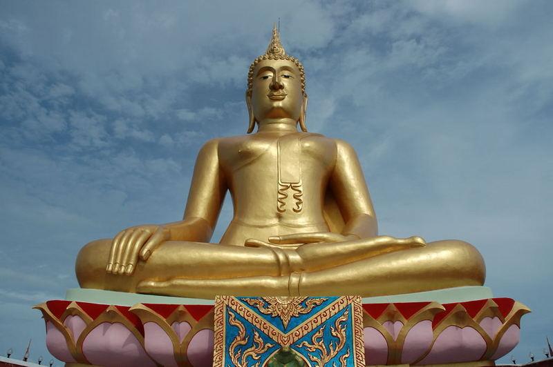 Big Buddha is watching you