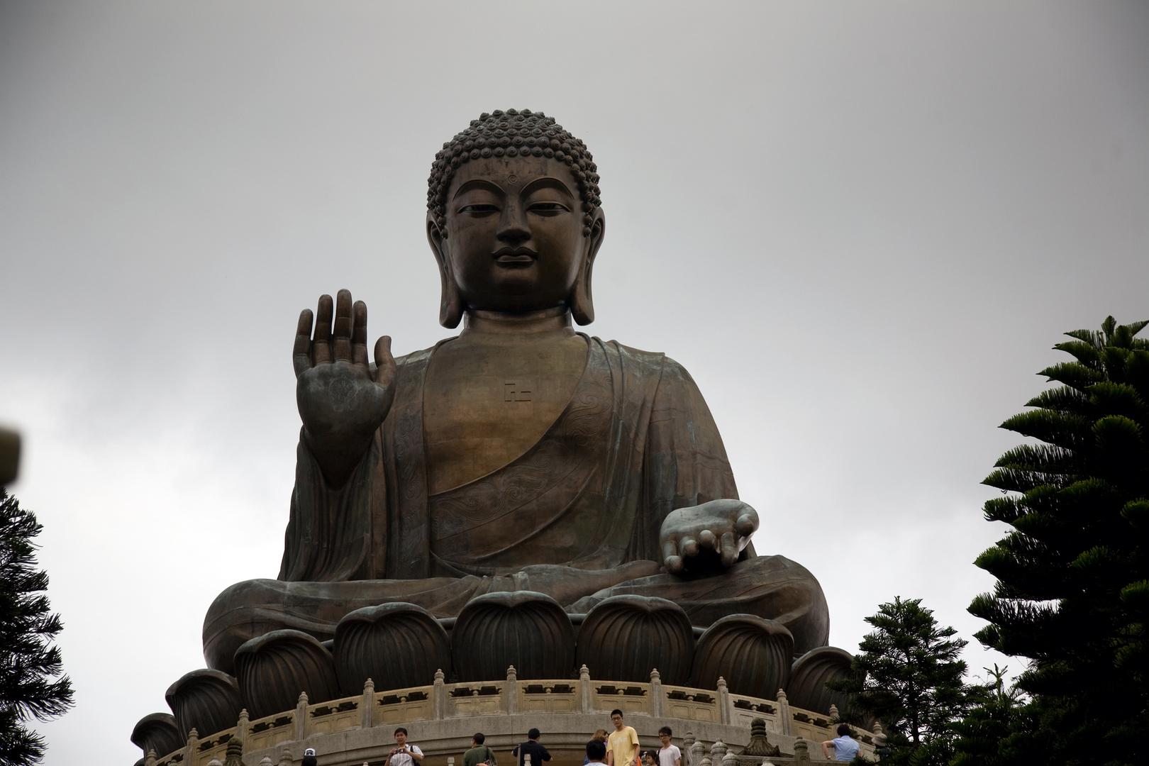 Big Buddha of Lan Tau