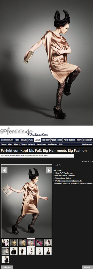 Big Hair and Big Fashion 2
