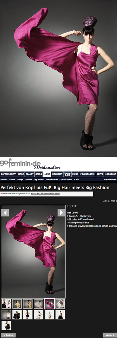 Big Hair and Big Fashion