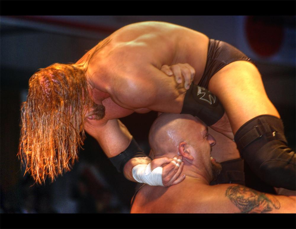 Big Show vs. Triple H in Nürnberg 2008