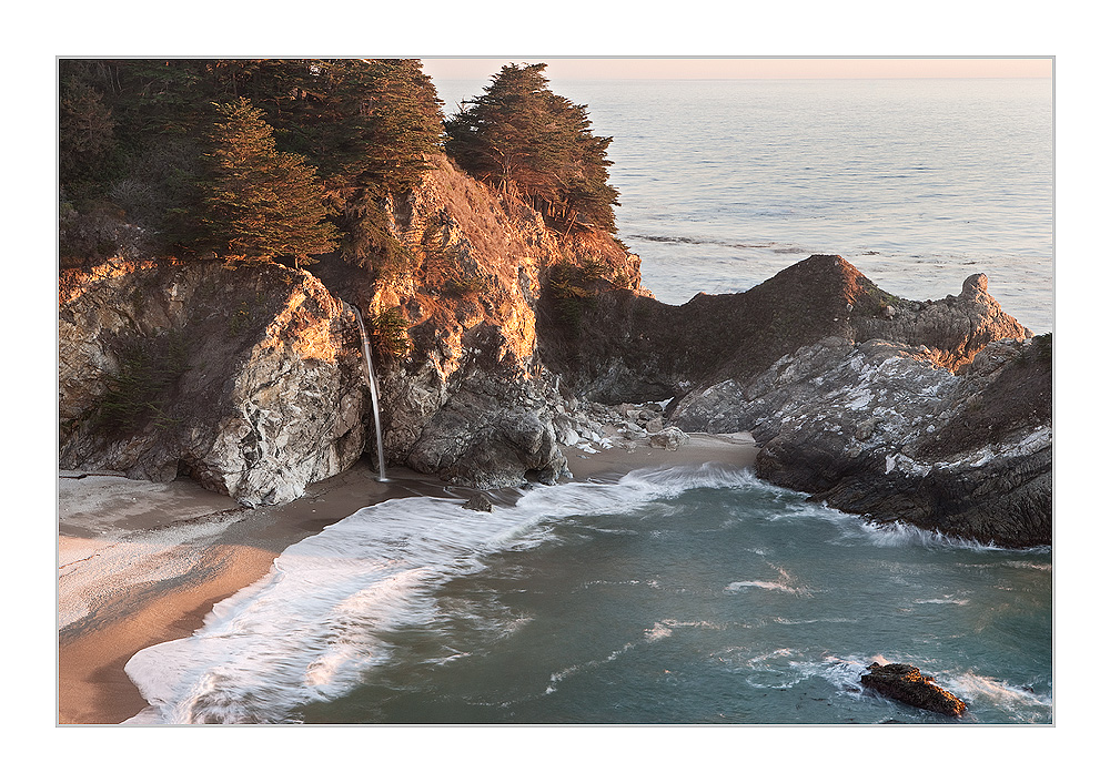 Big Sur at late Afternoon