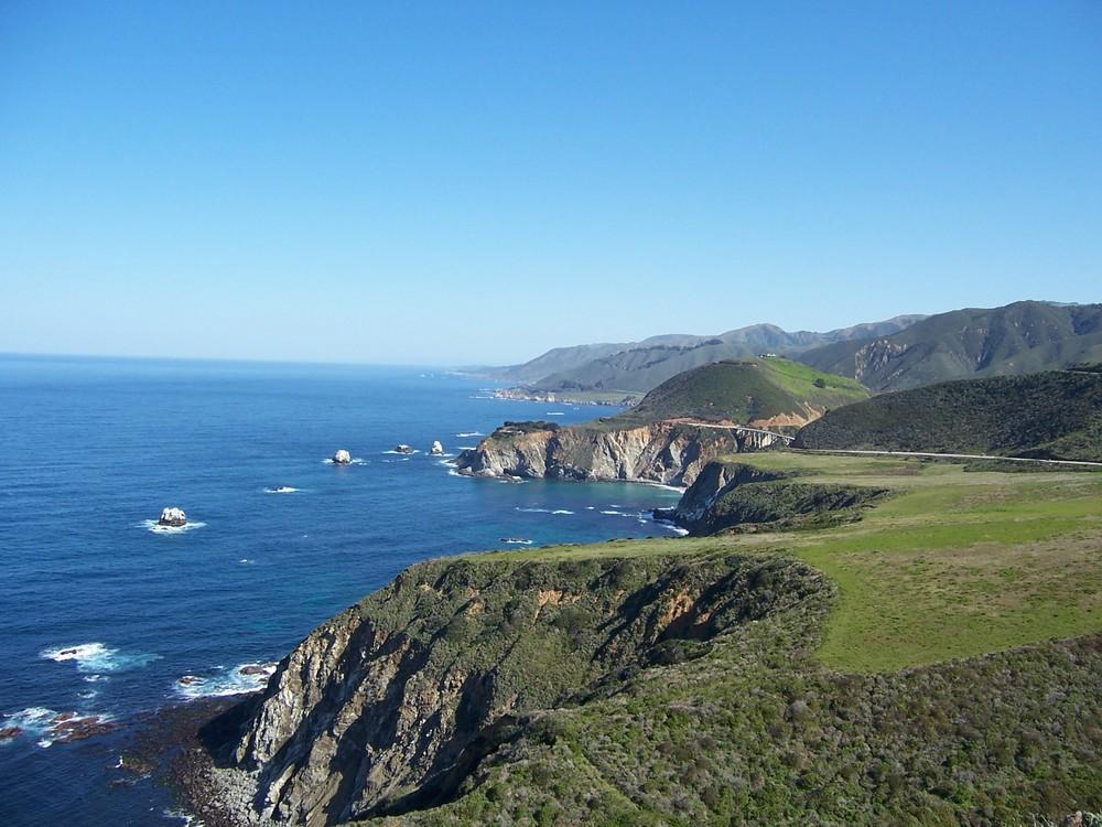 Big Sur - die Ocean Road in Kalifornien