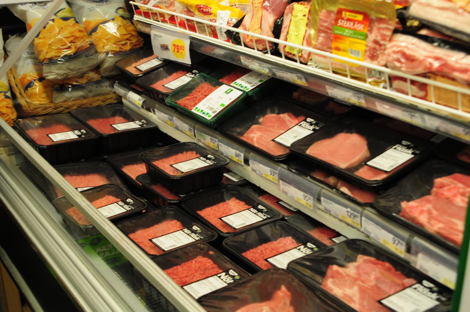 big swedish meat packages - große schwedische Fleisch Verpackungen