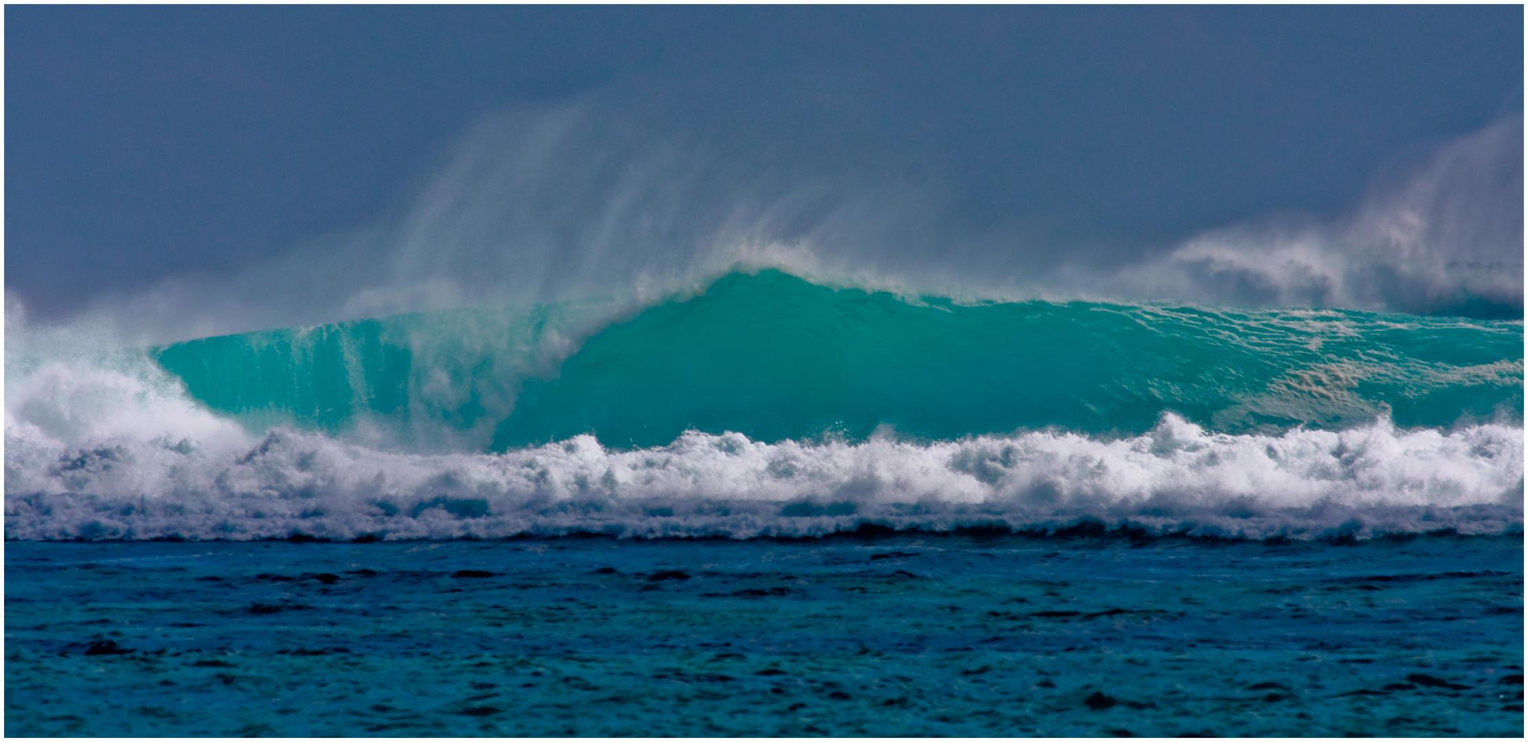 Big Wave @ One Eye, Le Morne, Mauritius