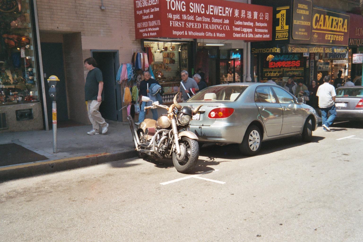 Bike in Chinatown
