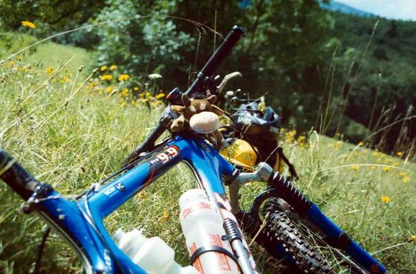 Bike mit Kuh