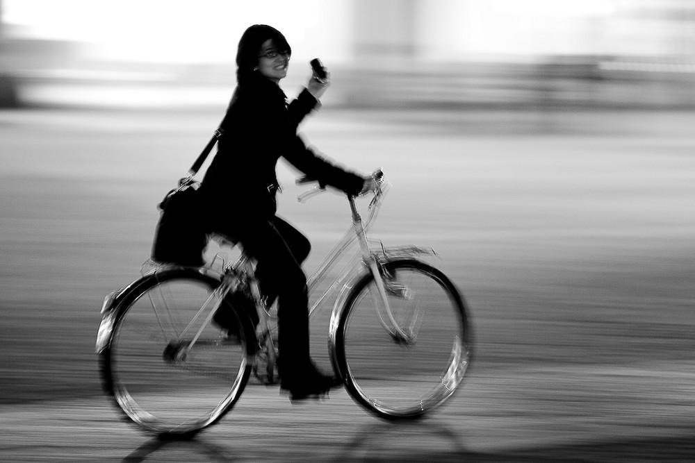 bike night panning