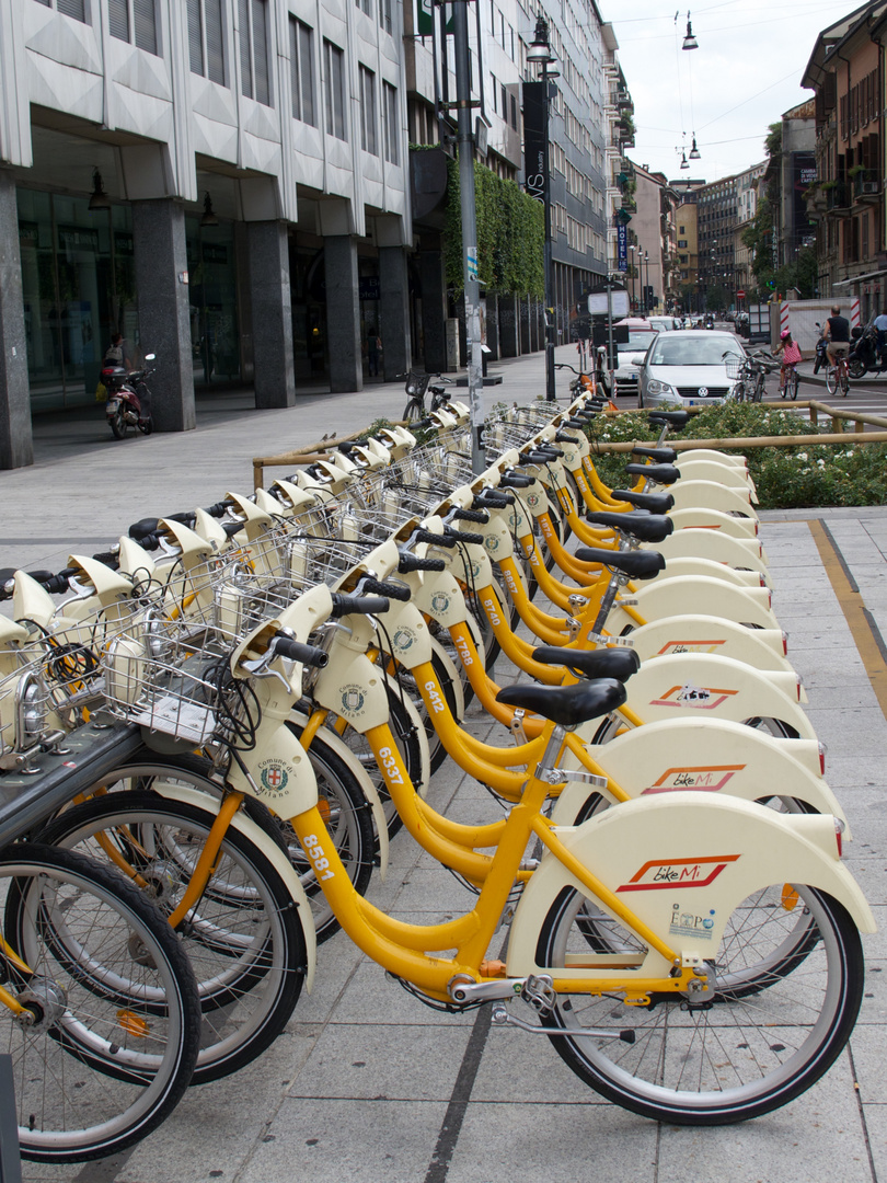 Bike sharing a Milano