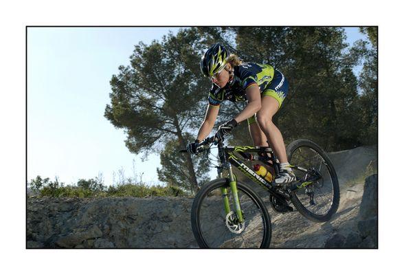 Bikebabe on Mallorca