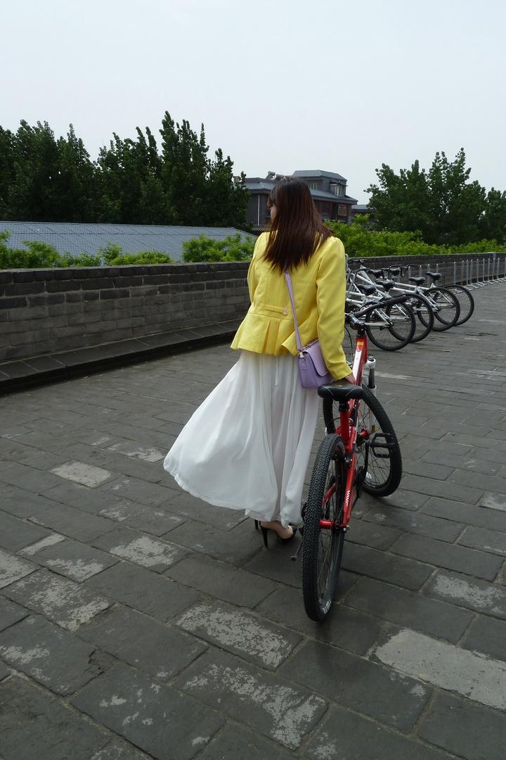 Biken in China