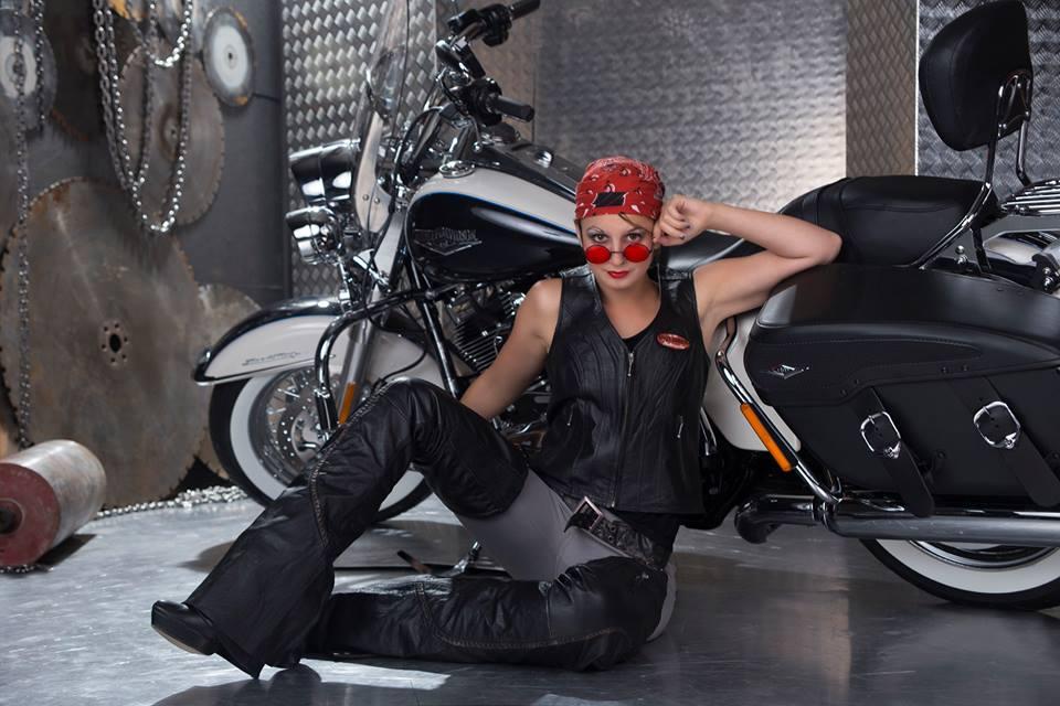 Biker-Braut