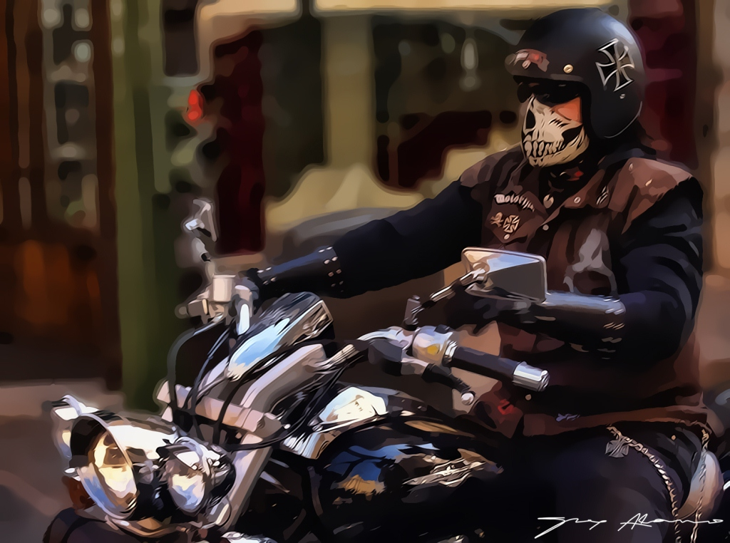 Biker from hell