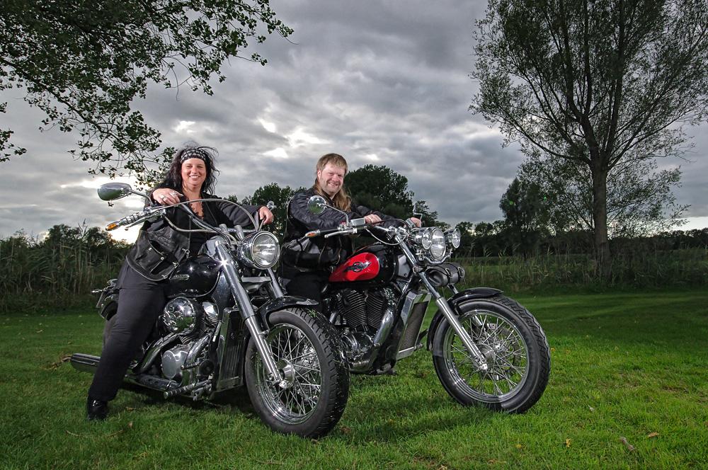Biker Wedding: Tina & Ron
