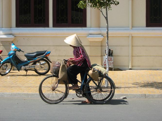 Bikers in Hanoi