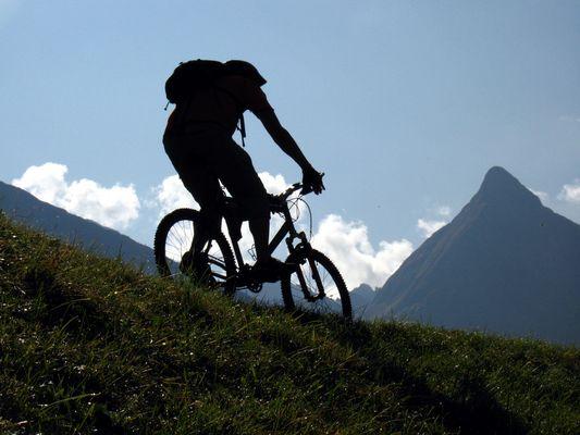 Biketour im Madautal/ Lechtal, Österreich